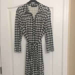 XL The Limited black and white dress